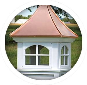 handcrafted cupolas